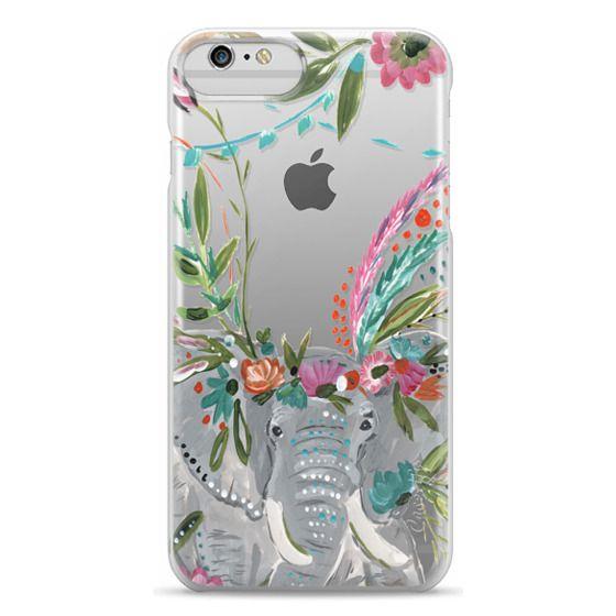iPhone 6 Plus Cases - Boho Elephant II by Bari J. Designs