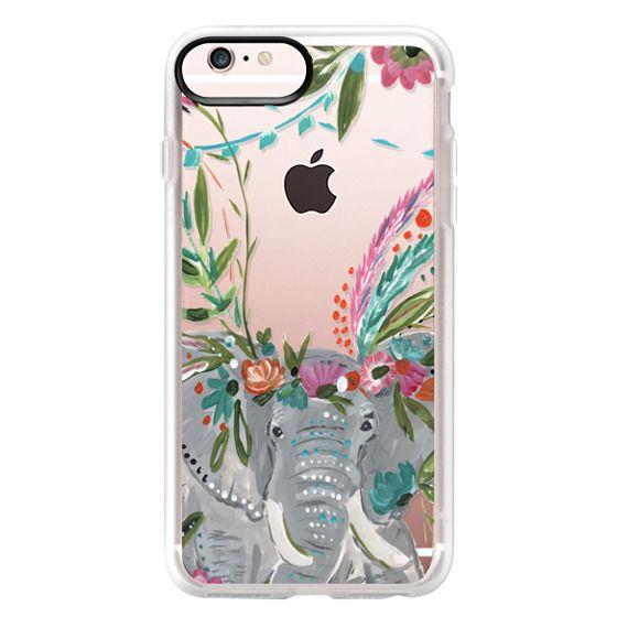 iPhone 6s Plus Cases - Boho Elephant II by Bari J. Designs