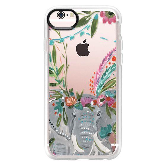 iPhone 6s Cases - Boho Elephant II by Bari J. Designs