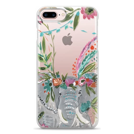 iPhone 7 Plus Cases - Boho Elephant II by Bari J. Designs