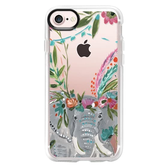 iPhone 7 Cases - Boho Elephant II by Bari J. Designs