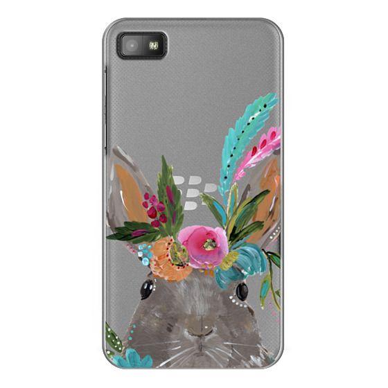 Blackberry Z10 Cases - Boho Bunny Rabbit