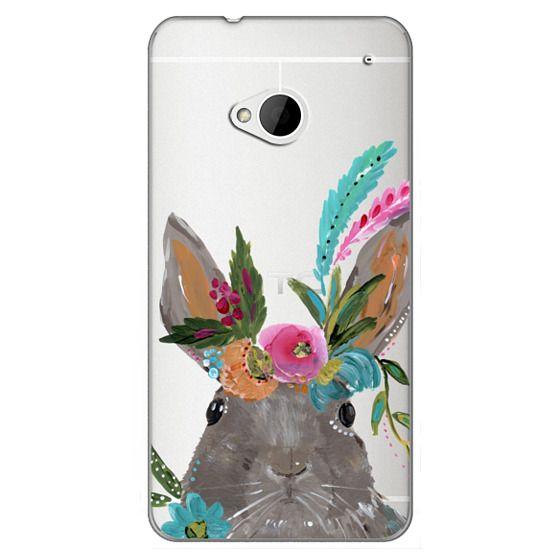 Htc One Cases - Boho Bunny Rabbit