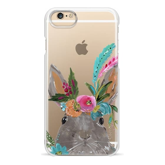 iPhone 6 Cases - Boho Bunny Rabbit