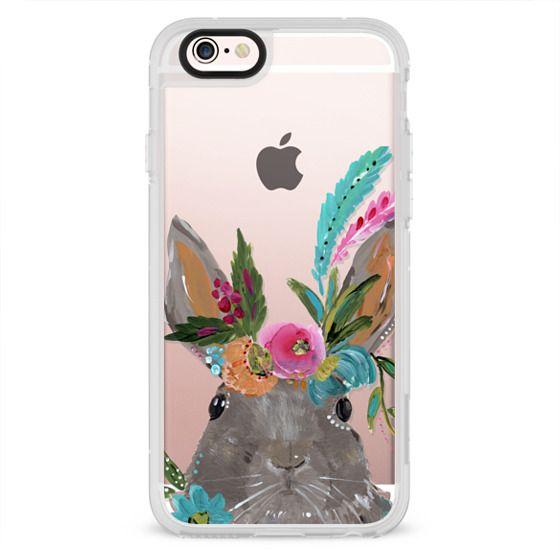 iPhone 4 Cases - Boho Bunny Rabbit