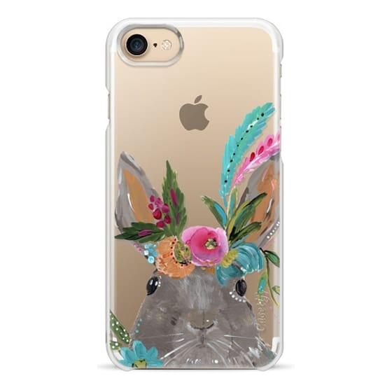 iPhone 7 Cases - Boho Bunny Rabbit