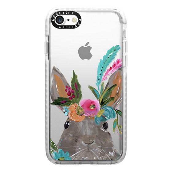 iPhone 7 Cases - Boho Bunny Rabbit
