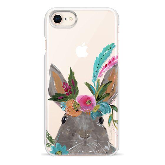 iPhone 8 Cases - Boho Bunny Rabbit