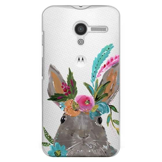 Moto X Cases - Boho Bunny Rabbit