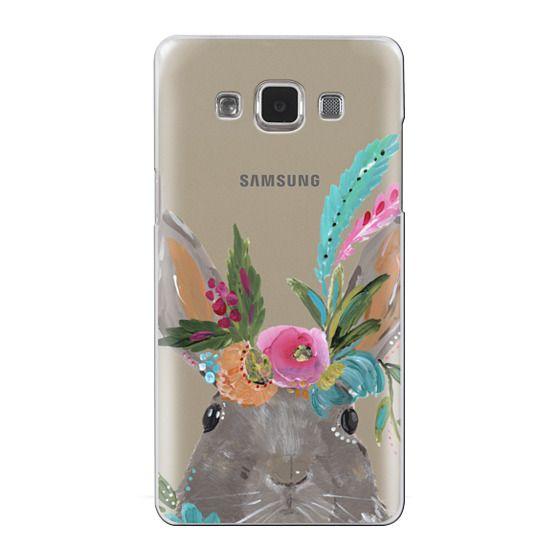 Samsung Galaxy A5 Cases - Boho Bunny Rabbit