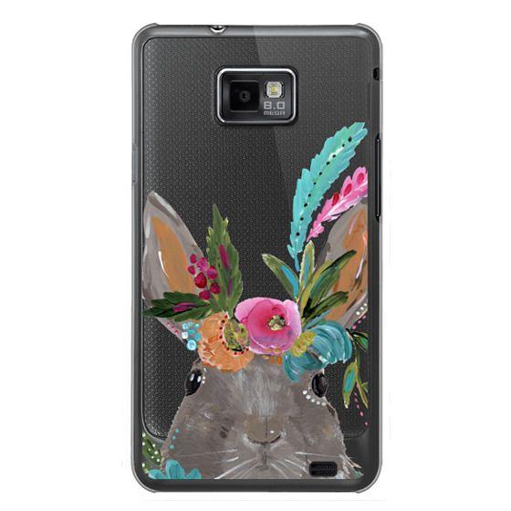 Samsung Galaxy S2 Cases - Boho Bunny Rabbit
