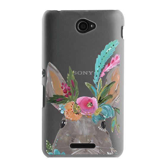 Sony E4 Cases - Boho Bunny Rabbit