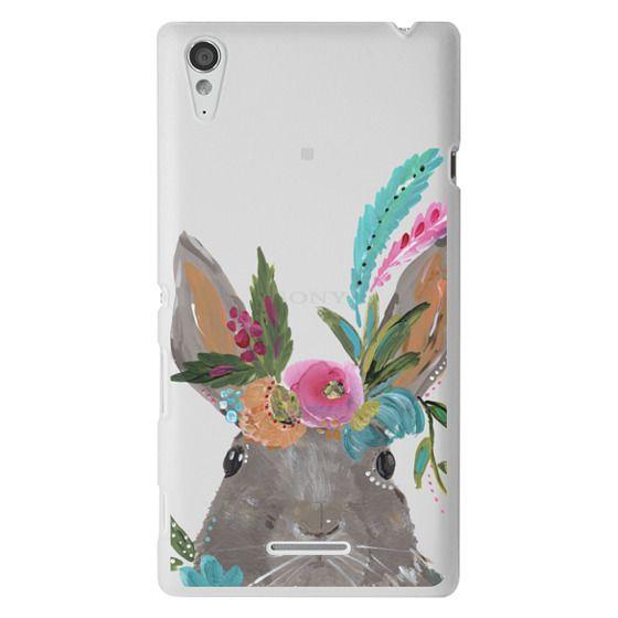 Sony T3 Cases - Boho Bunny Rabbit