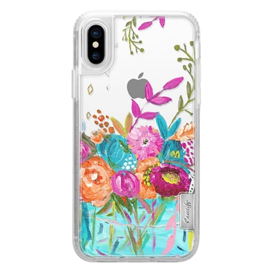 iPhone X Cases - bouquet 1 clear case