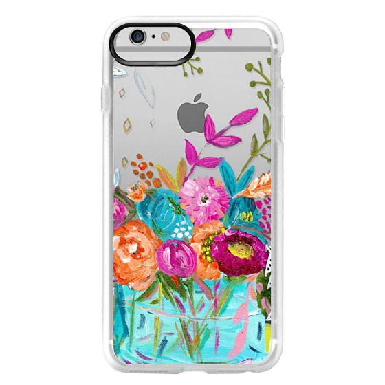 iPhone 6 Plus Cases - bouquet 1 clear case