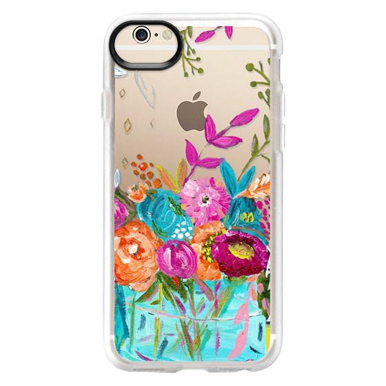 iPhone 6 Cases - bouquet 1 clear case