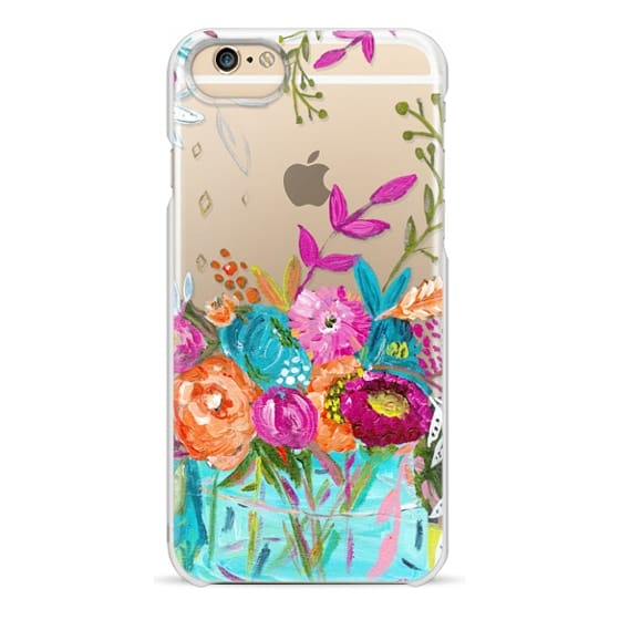 iPhone 4 Cases - bouquet 1 clear case