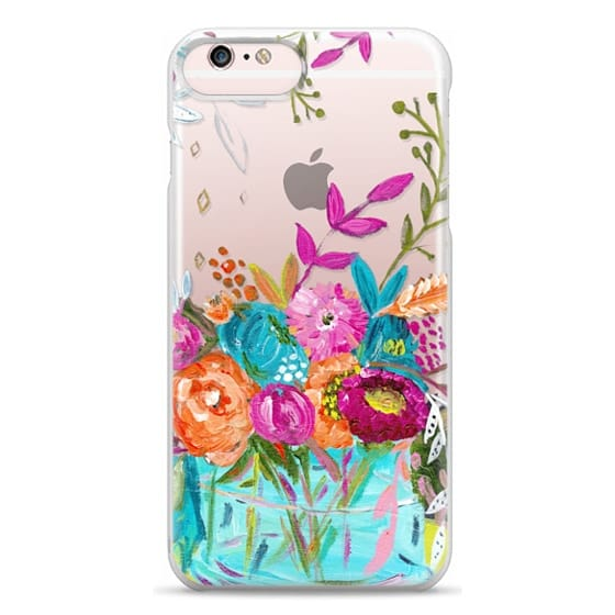 iPhone 6s Plus Cases - bouquet 1 clear case