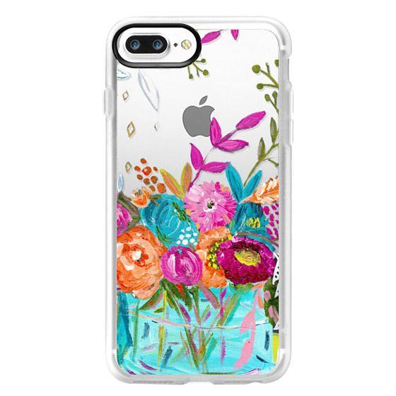 iPhone 7 Plus Cases - bouquet 1 clear case