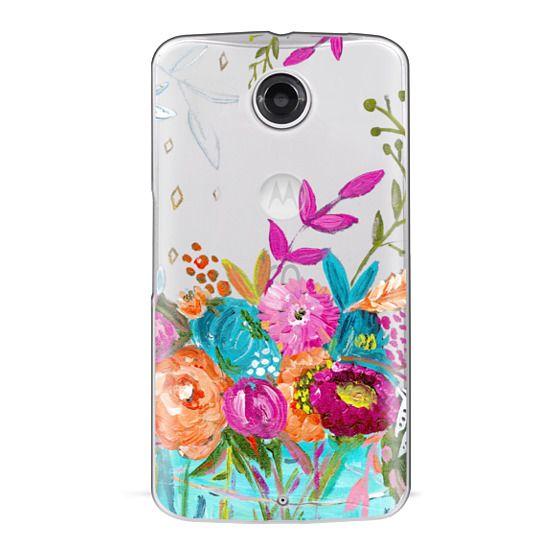 Nexus 6 Cases - bouquet 1 clear case