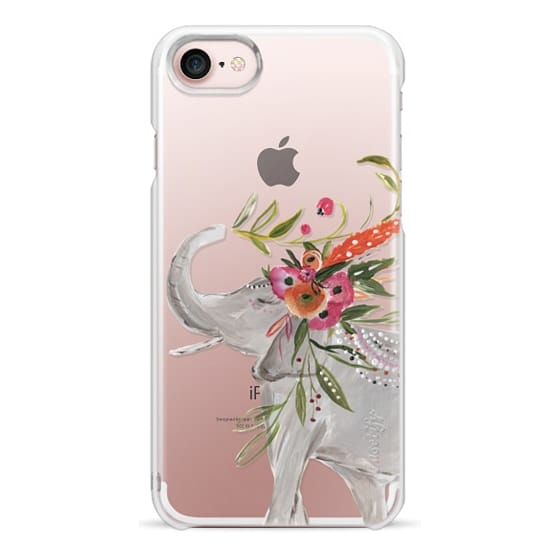 iPhone 7 Cases - Boho Elephant by Bari J. Designs