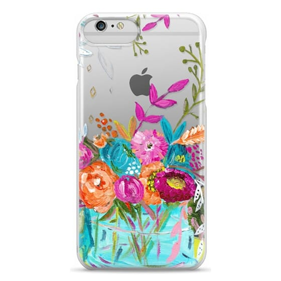 iPhone 6 Plus Cases - bouquet 1 clear case