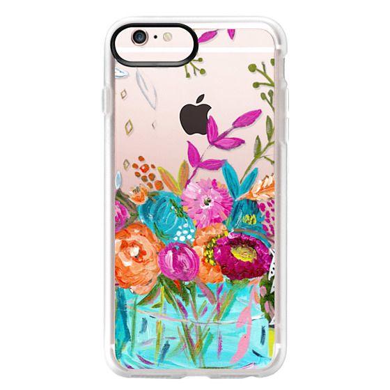 iPhone 6s Plus Cases - bouquet 1 clear case