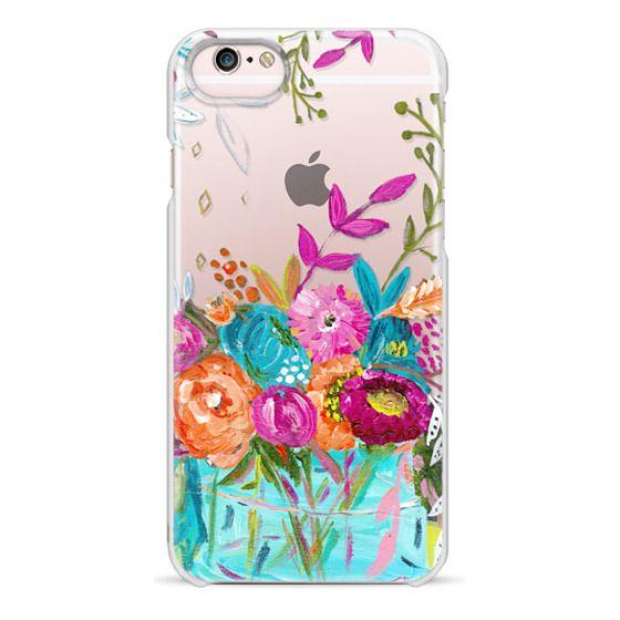 iPhone 6s Cases - bouquet 1 clear case
