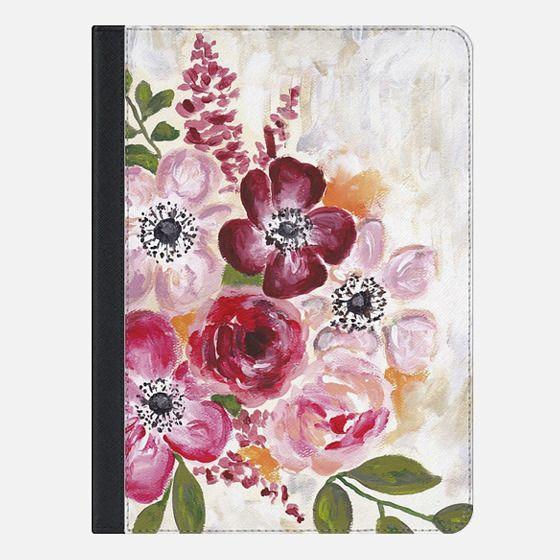 Floral Love Ipad - iPad Folio Case