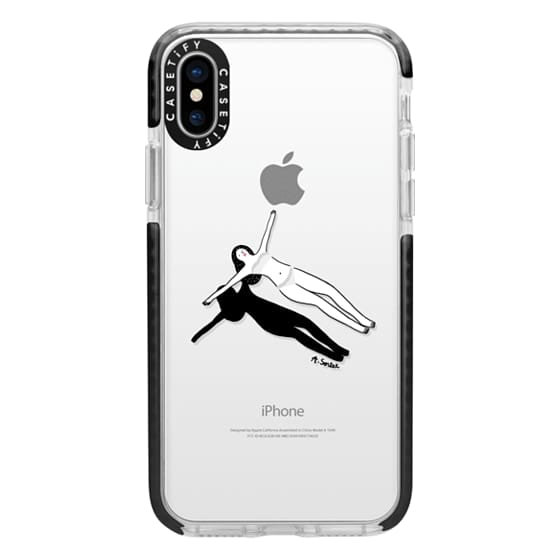 iPhone X Cases - Swimming Pool
