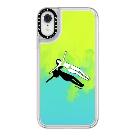 iPhone XR Cases - Swimming Pool