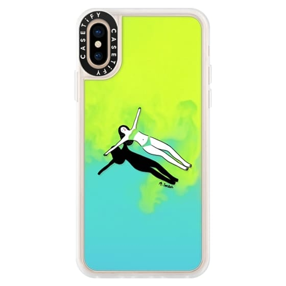 iPhone XS Cases - Swimming Pool