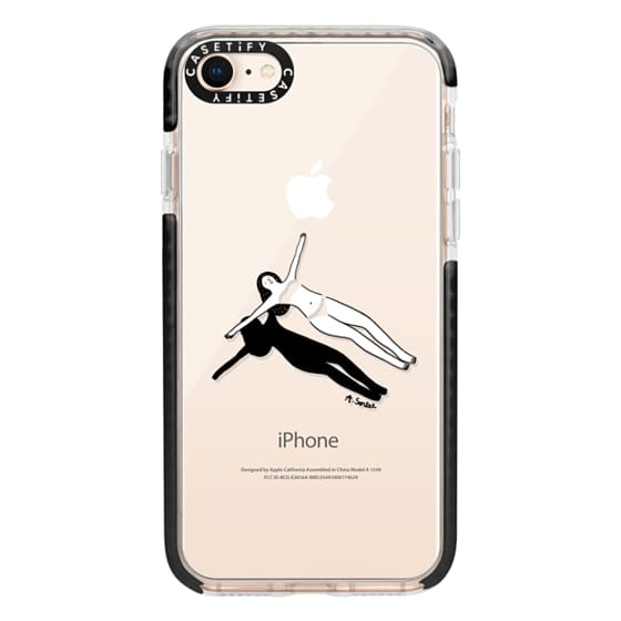 iPhone 8 Cases - Swimming Pool