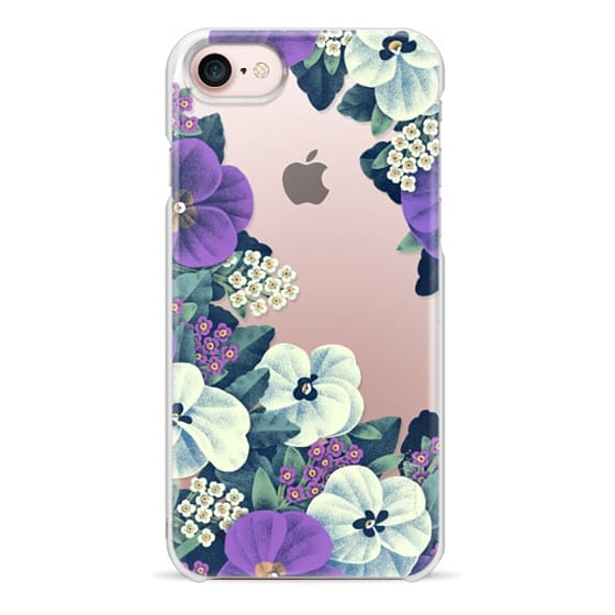 iPhone 7 Cases - Night Flowers