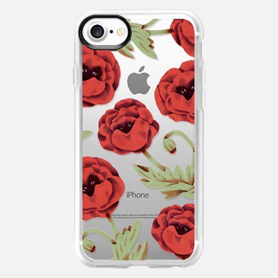 Poppies - Classic Grip Case