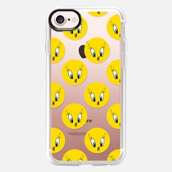 Tweety Pie Polka Dots Print - Wallet Case