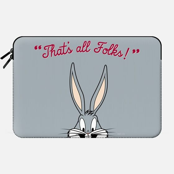 That's All Folks - Bugs Bunny Macbook Sleeve -