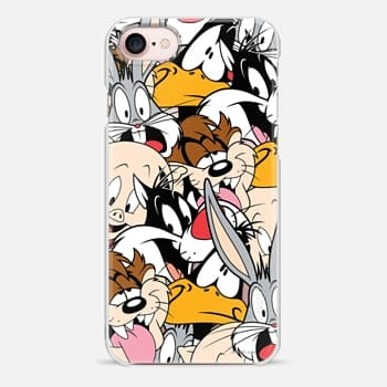 iPhone 7 Case Looney Tunes Party All-Over Print