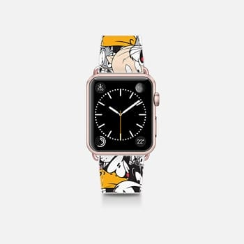 Apple Watch Band (38mm)  Looney Tunes Party All-Over Print Apple Watch Band