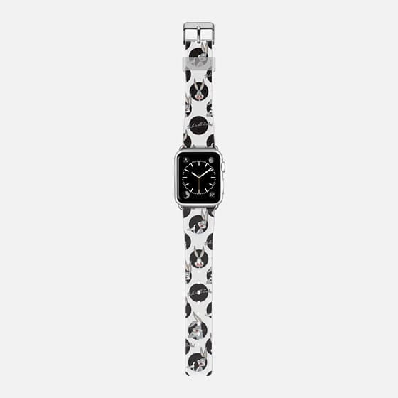 Bugs Bunny Polka Print Apple Watch Band -