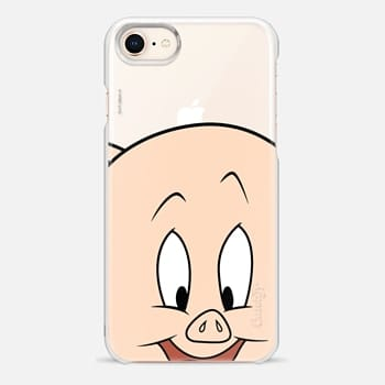 iPhone 8 Case Porky Pig Portrait