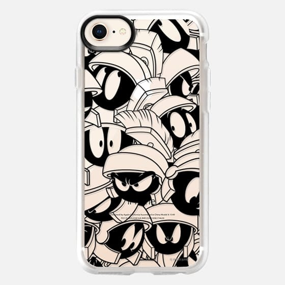Marvin the Martian Outline - Snap Case