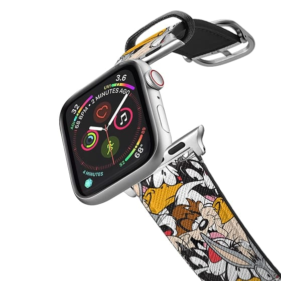 Apple Watch 38mm Bands - Looney Tunes Party All-Over Print Apple Watch Band