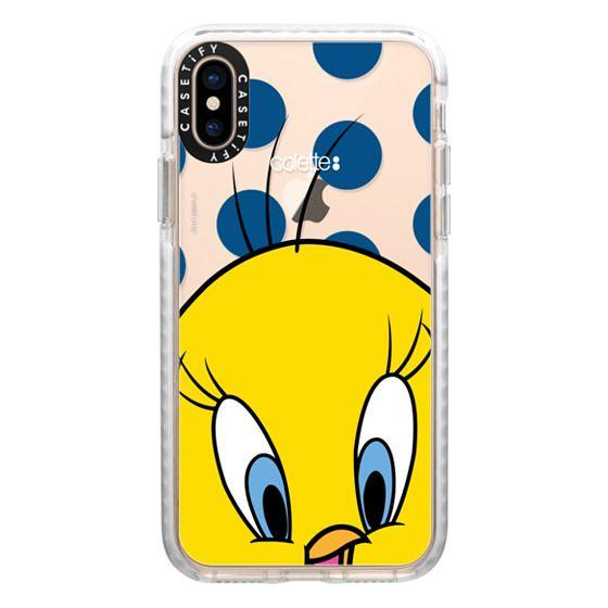 iPhone XS Cases - colette Tweety Bird Portrait