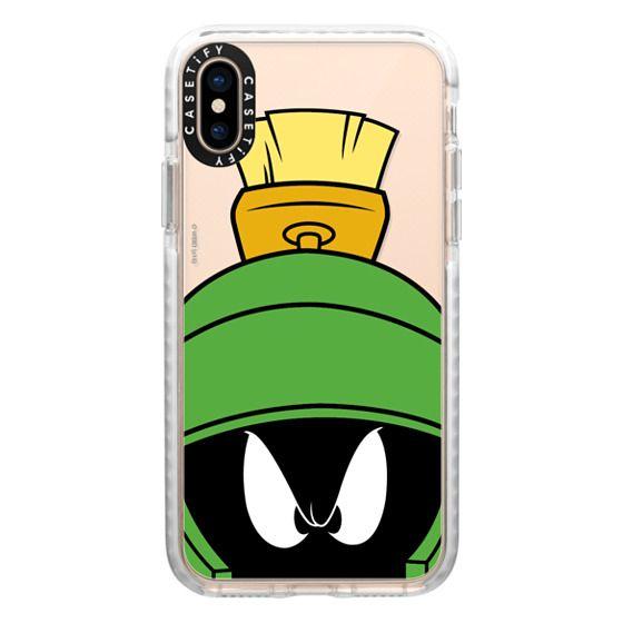 iPhone XS Cases - Marvin the Martian Portrait