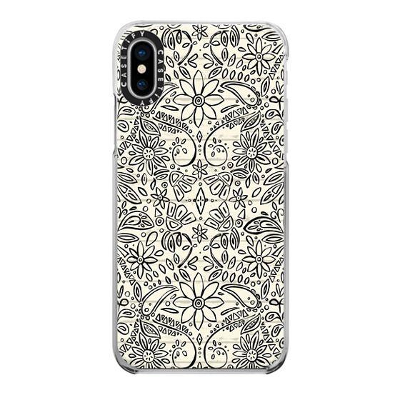iPhone 6s Cases - aziza mono boho floral