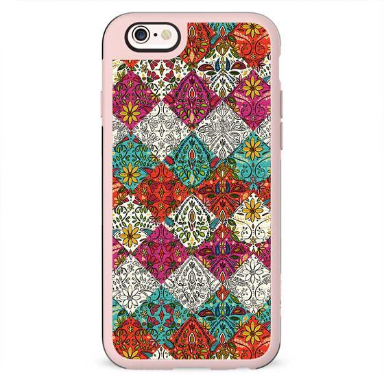aziza patchwork boho floral