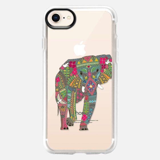 painted elephant transparent S4 - Snap Case