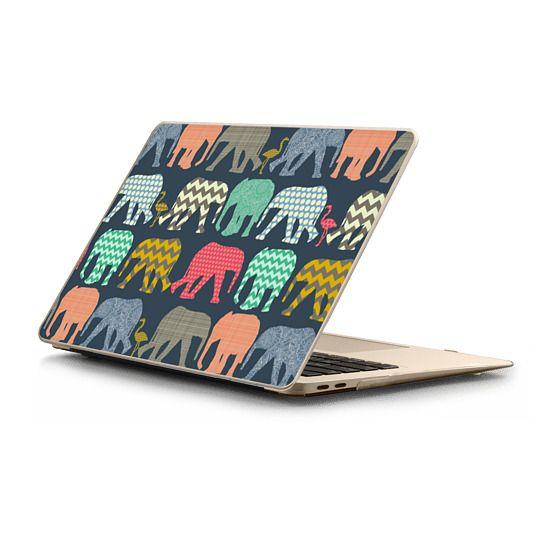 MacBook Air Retina 13 Sleeves - baby elephants and flamingos
