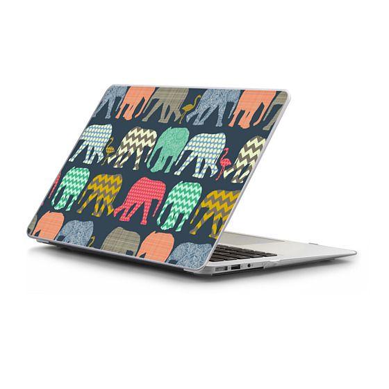 MacBook Air 11 Sleeves - baby elephants and flamingos